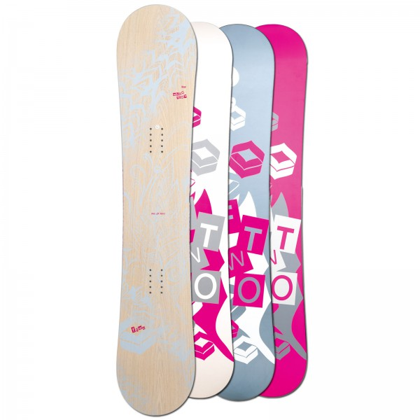 FTWO | DAMEN FREESTYLE SNOWBOARD WHITEDECK