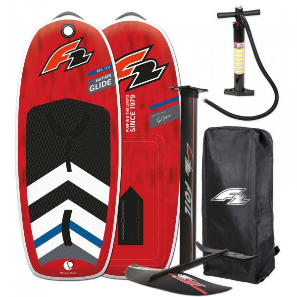 F2 GLIDE SURF AIR 5,2' WING FOIL BOARD 90 LITER + FOILSET