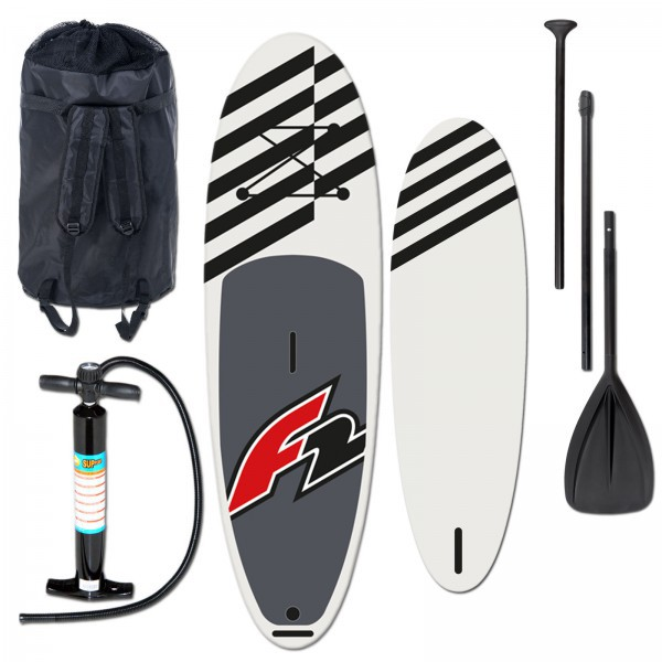 F2 | Allround Air Windsurf | 2019 INKLUSIVE TASCHE, BRAVO-PUMPE & REPAIR KIT + 3-TEILIGES PADDEL (16