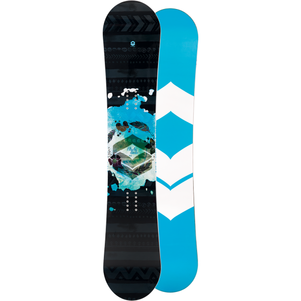 FTWO - Snowboard - Blackdeck women camber - blue | 2019