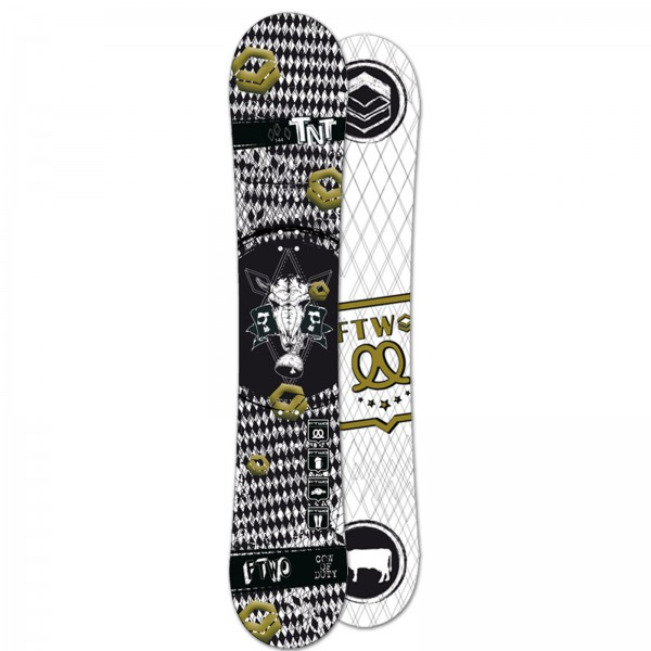 FTWO | FREESTYLE SNOWBOARD TNT BLACK DEATH | 147 CM
