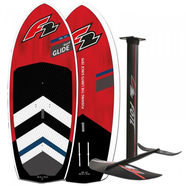 F2 GLIDE SURF HARDBOARD 2022 ~ WINGSURF FOIL BOARD 120 LITER + FOIL SET