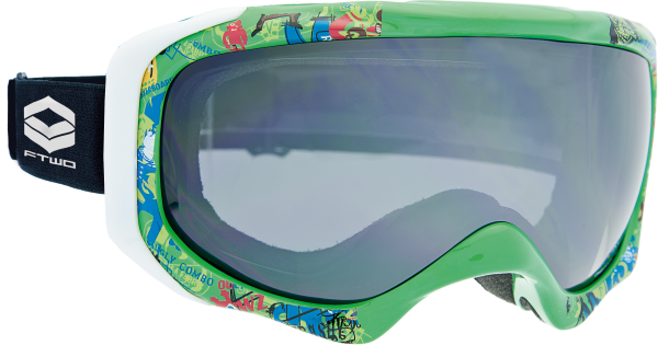 FTWO - Goggle Rider Rookie green | 2019
