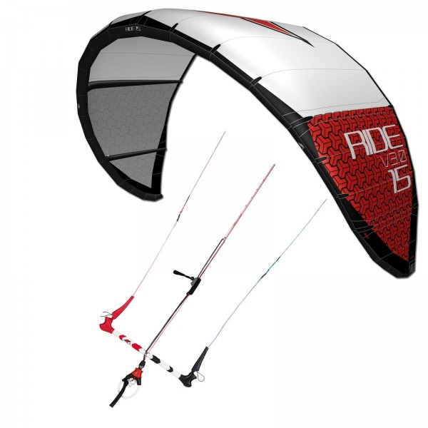 KITE SET F2 RIDE V3.0 KITE INKL. CONTROL BAR