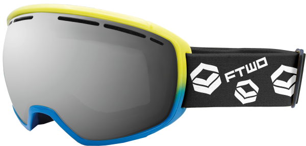 FTWO - Goggle TNT - blue/yellow | 2019