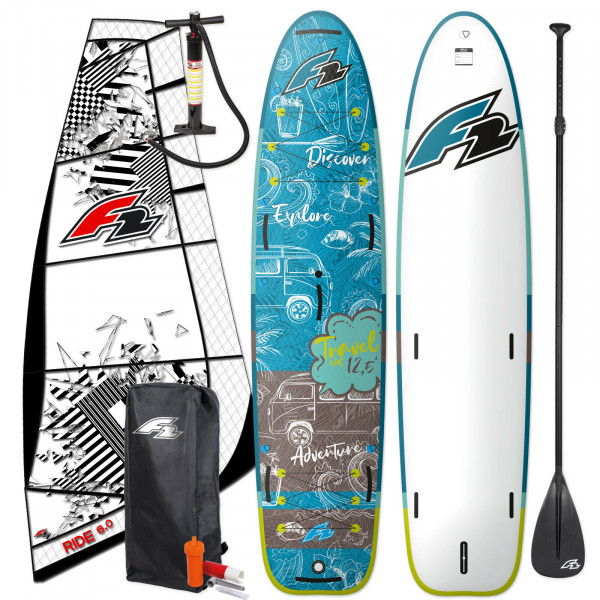 F2 SUP Travel Windsurf 12,0' + F2 Ride Rigg