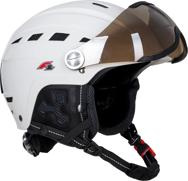 F2 - Helmet - Worldcup TEAM - GIRL white - 2019-