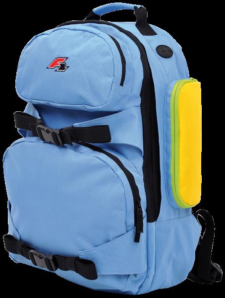 F2 - Daypack  blue / black - 2019