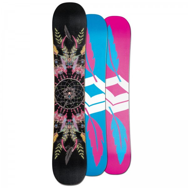 FTWO DAMEN FREESTYLE SNOWBOARD BLOOM ~ 143 CM CAMBER