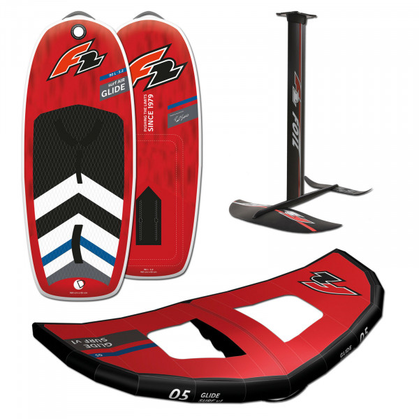 F2 GLIDE SURF AIR 5,2' 90 LITER + FOILSET + WING 5.0M
