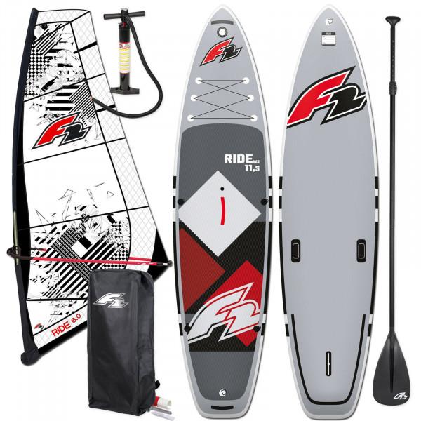 F2 SUP Ride Windsurf 10,5' + F2 Ride Rigg