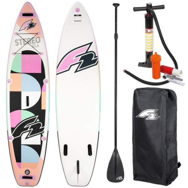 F2 SUP STEREO WOMAN PINK 2020
