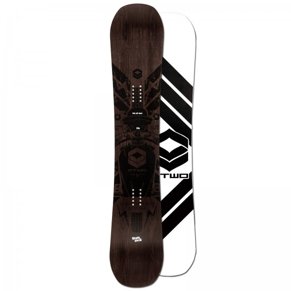 FTWO | Herren Freestyle Snowboard Blackdeck Wood
