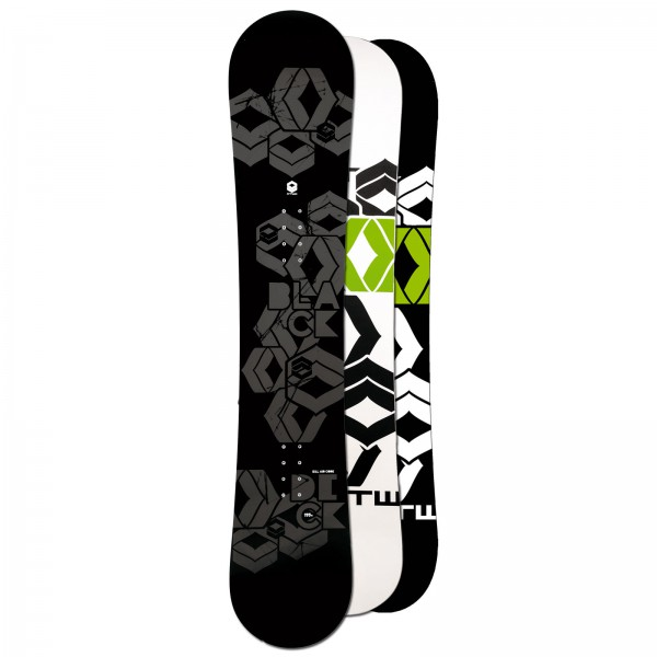 FTWO HERREN FREESTYLE SNOWBOARD BLACKDECK ~ 154 CM ~ CAMBER